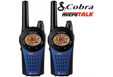 12Km COBRA MT975 Walkie Talkie 2 Two Way PMR 446 Radio - Twin