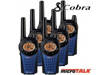 12km COBRA MT975 Walkie Talkie 2 Two way PMR Radio - Six