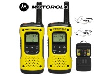 10Km Motorola TLKR T92 H2O Floating Two Way Radio Walkie Talkie Travel Pack with 2 x Headsets - Twin