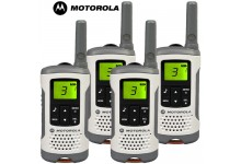 6km Motorola TLKR T50 Walkie Talkie Two Way Licence Free PMR Radio - Quad Pack