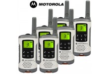 6km Motorola TLKR T50 Walkie Talkie Two Way Licence Free PMR Radio - Six Pack