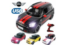 Official Licensed CM-2204 1:14 Mini Cooper Countryman Radio Remote Controlled RC USB Electric Car - Ready To Run EP RTR