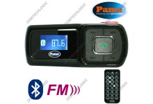 Pama Plug N Go 112 A2DP Stereo Bluetooth Handsfree Remote Control Car Kit with FM Transmitter