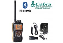 COBRA MR HH500 FLT BT EU Version Bluetooth Handheld VHF Marine LCD Submersible Floating Radio