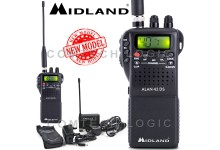 Midland Alan 42 DS AM FM Multi Band Mobile Handheld CB Transceiver Radio