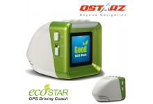 Qstarz EC-Q1600 ECO Star Real Time GPS Driving Coach for Safe Driving and Fuel Efficiency