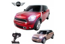 Official Licensed CM-2225 1:16 Mini Cooper Paceman Radio Remote Controlled RC Electric Car - Ready To Run EP RTR - Red / Brown