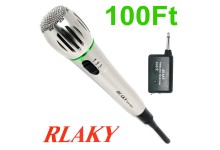Rlaky DM-308A Wireless Wired DJ Karaoke Public Address PA XLR Microphone