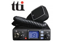 TTI TCB-560 Dynamic Squelch (DSS) 12/24V Dual Voltage CB Radio with changeable LCD Display